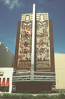 Images of the Paramount Theater, Oakland, California, by