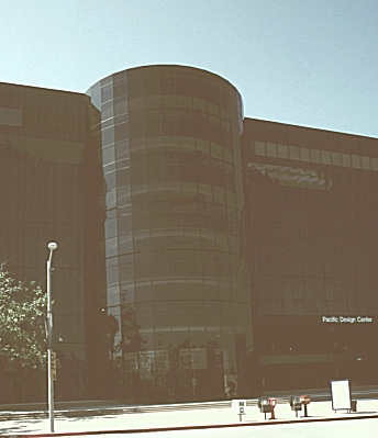 Images of the Pacific Design Center, by Cesar Pelli ... The 1975 Rectangle Transparent