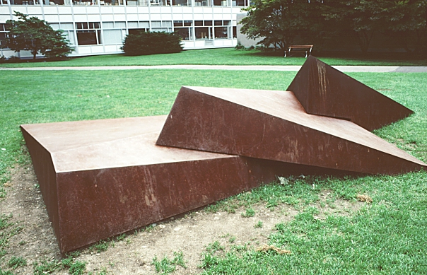 Images of Dunes I, MIT campus, 1971, by Beverly Pepper ...