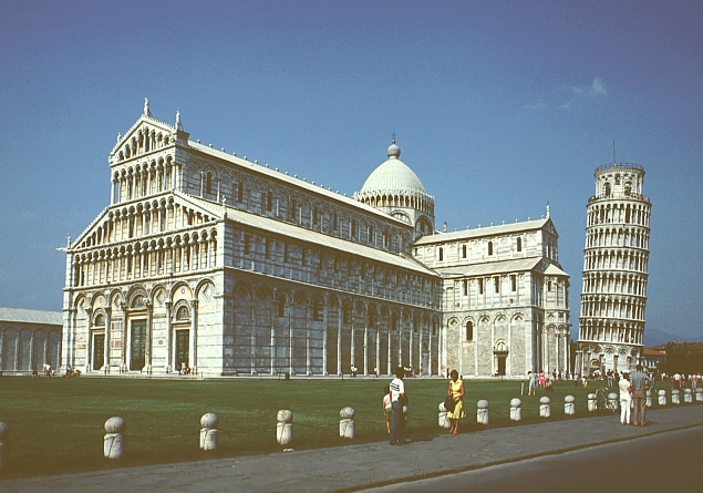 Images of the Pisa Cathedral. Digital Imaging Project: Art ...