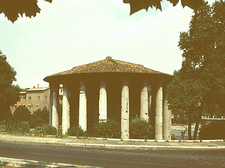 Images Of Temple Of Vesta Late 2nd Century Bce Rome