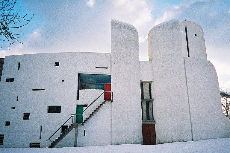 Chapel Of Notre Dame Du Haut By Le Corbusier