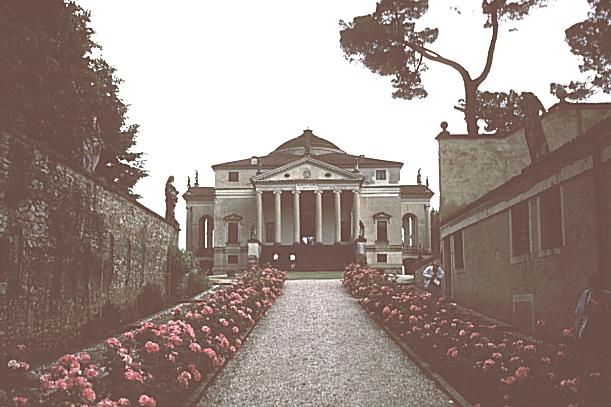 Front Elevation Porch : Images of the rotonda villa capra vicenza italy begun