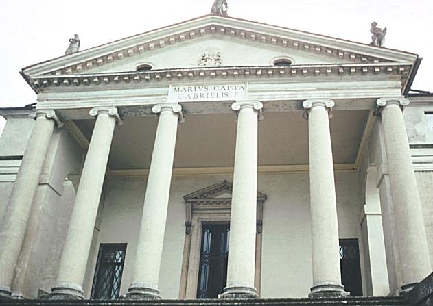 Images Of The Rotonda Villa Capra Vicenza Italy Begun