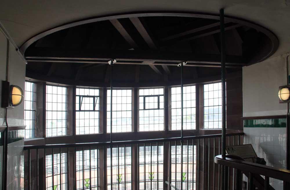 Internal Masonry Within Stair Tower At Scotland Street School