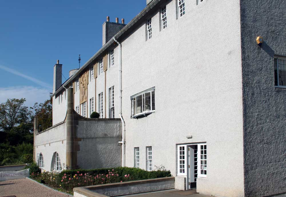 Images Of The House For An Art Lover By Charles Rennie
