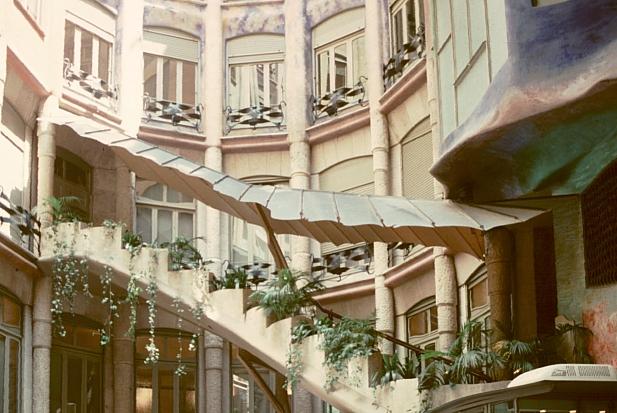 Casa Mila (La Pedrera) by Antoni Gaudi