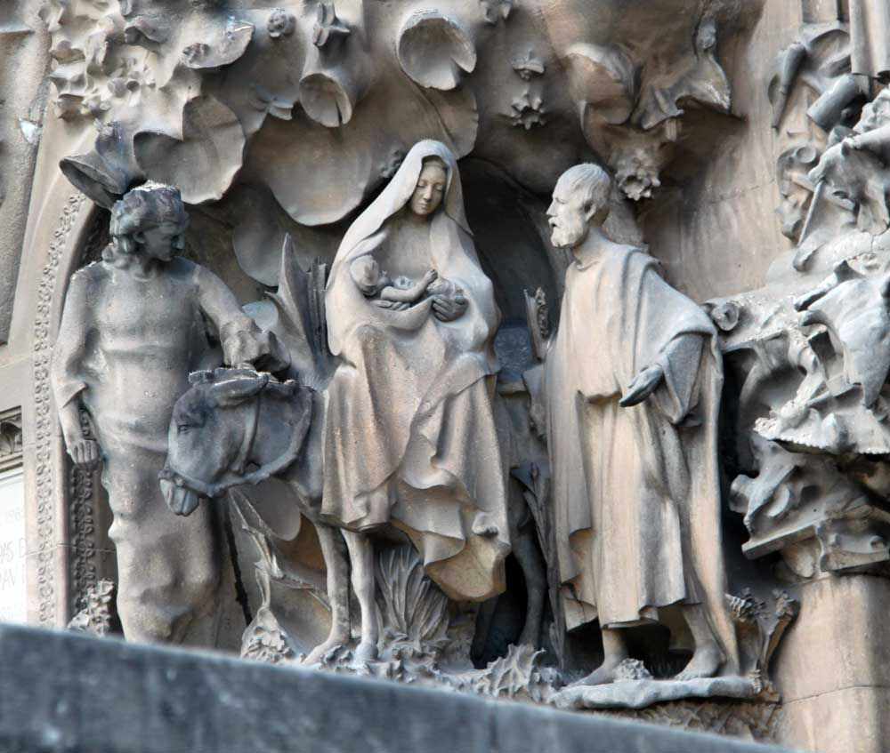 Image result for Sagrada Familia Nativity Facade