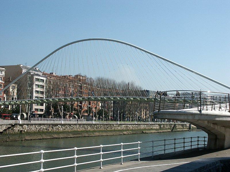 Images of Campo Volantin Footbridge by Santiago Calatrava