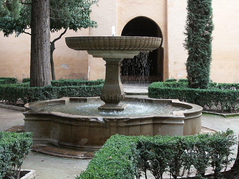 alhambra fuente del jardn de lindaraxa en la alhambra