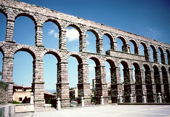 Roman Aqueduct, Segovia Spain
