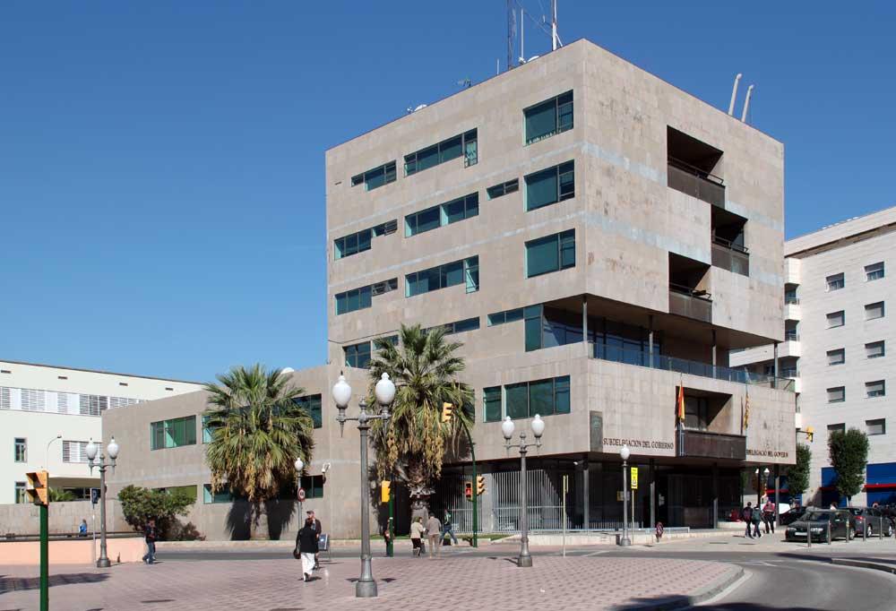 Ground Floor Elevation In House : Civil government building by alejandro de la sota in