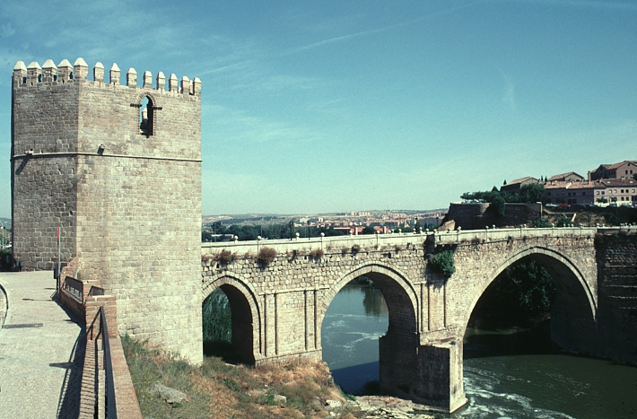 San Martins Bridge, Toledo Spain