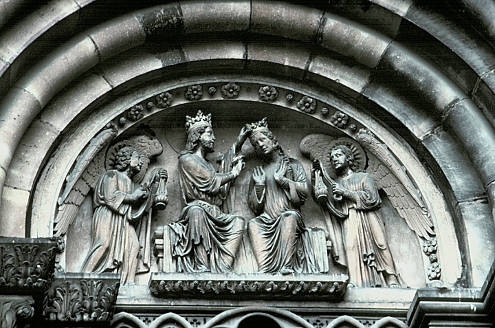 North American Portal >> Images of Tympana, Double portal, South Transept, Strasbourg Cathedral, Strasbourg, France ...