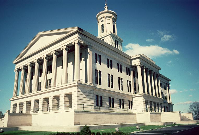 Tennessee State Capitol Nashville By Strickland