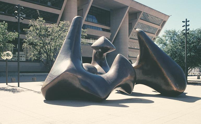 images of the dallas piece by henry moore