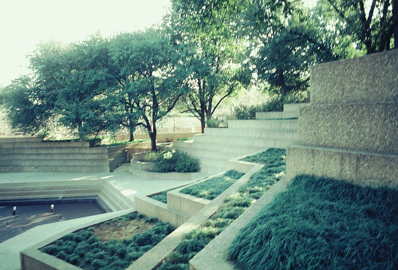 Images of Fort Worth Water Gardens by Philip Johnson