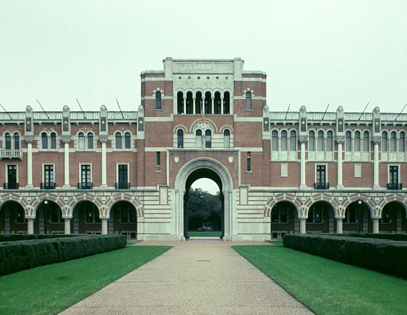 Images Of Administration Building Rice University By Cram