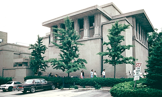 Images of Unity Temple, 1906, by Frank Lloyd Wright at Oak ...