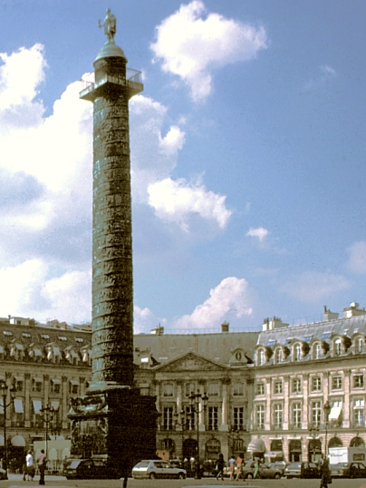 images of place vendome paris france