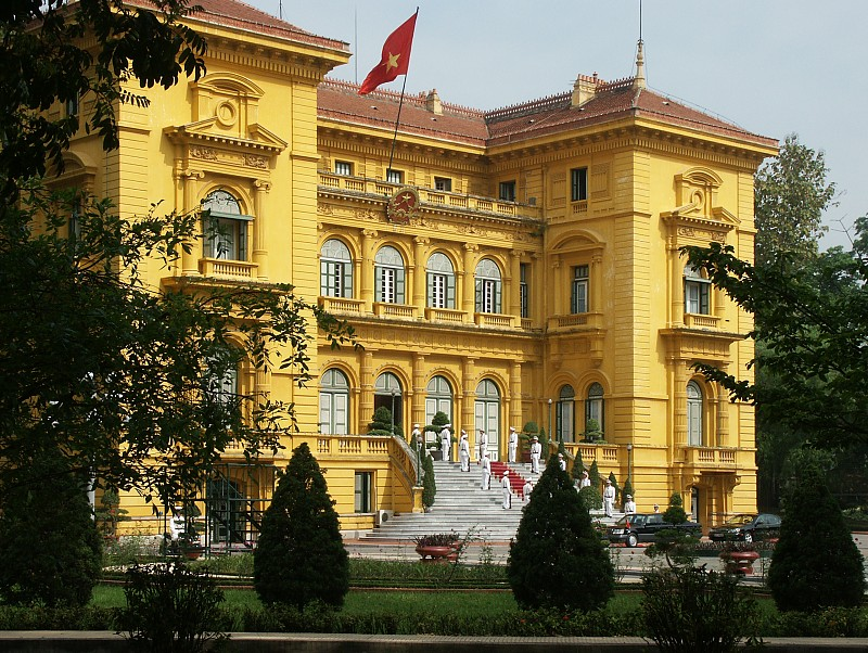 Images Of The Presidents Palace Hanoi Vietnam