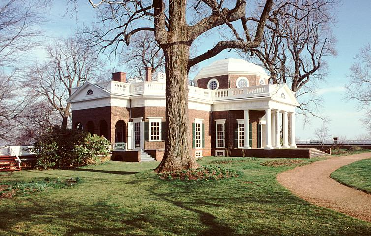 Images Of Monticello By Thomas Jefferson