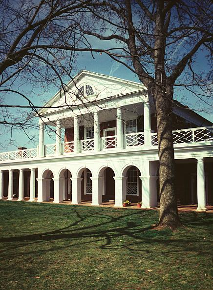 Images Of The Lawn University Of Virginia By Thomas