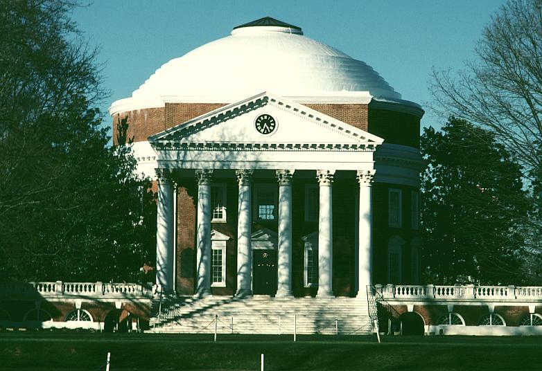 Images Of The Rotunda University Of Virginia By Thomas