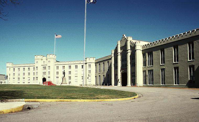 Clayton Hall Virginia Military Institute Barracks By