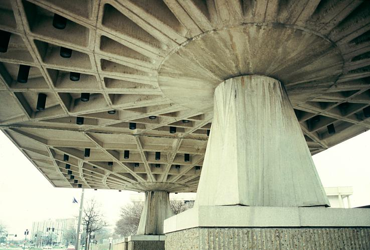 Scope Cultural And Convention Center By Pier Luigi Nervi
