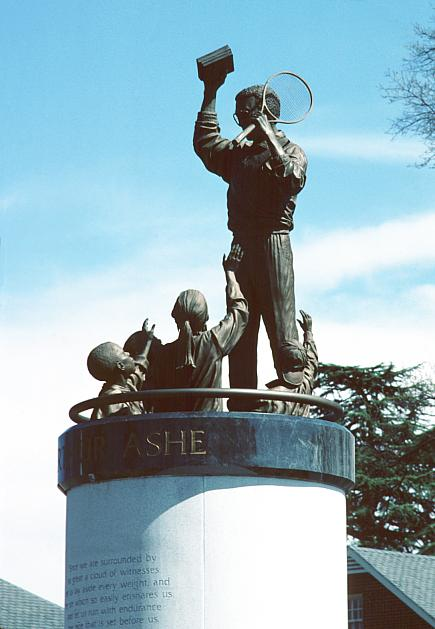 Statue of Arthur Ashe Jr., Monument Avenue