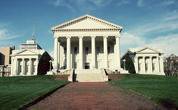 Capitol Building Designed By Thomas Jefferson
