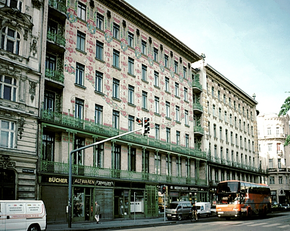 Images Of Majolikahaus Vienna Austria By Otto Wagner 1898