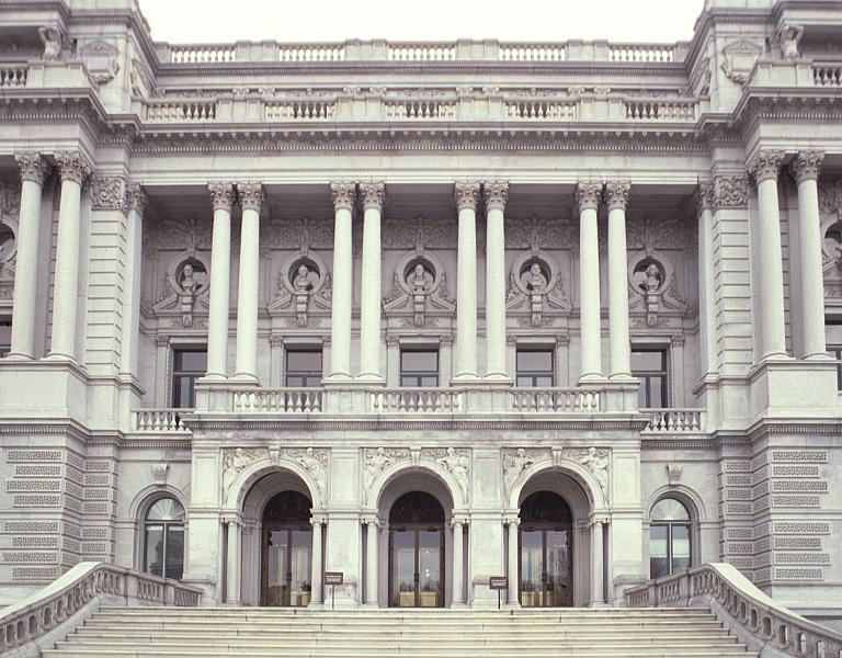 Library Of Congress Jefferson Building By Smithmeyer And Pelz