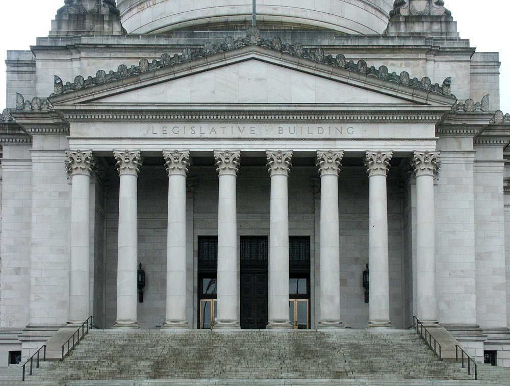 Building A House On Pillars : Images of washington state capitol by wilder and white