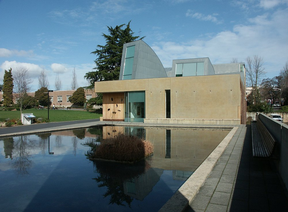 Images Of The Chapel Of St Ignatius Seattle University By Steven Holl