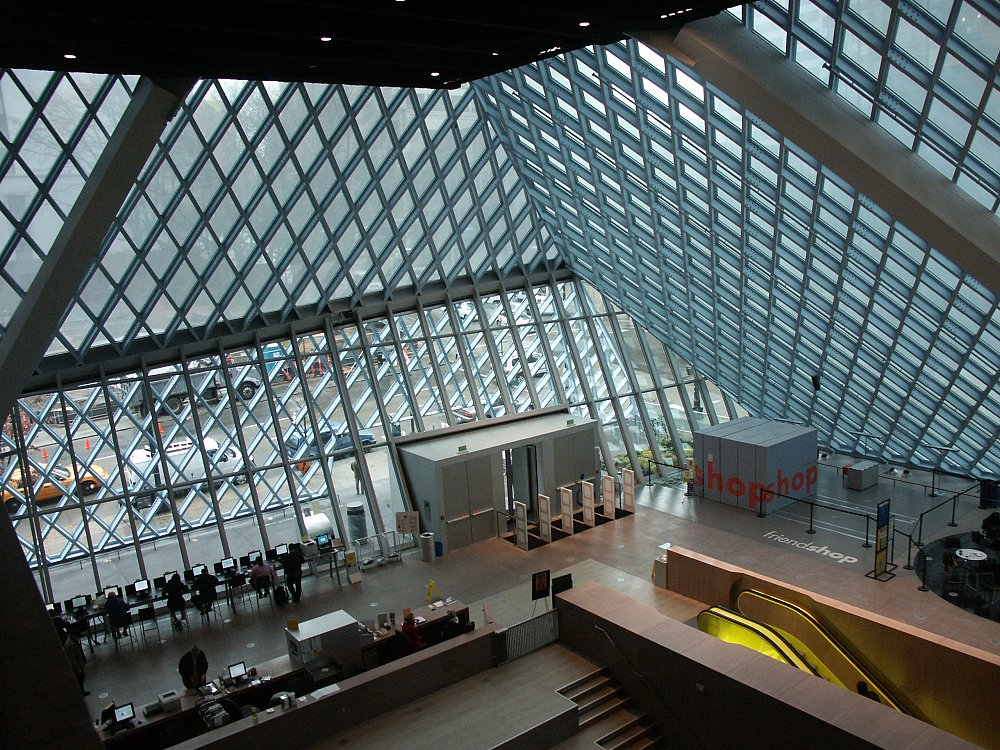 Images Of The Central Library, Seattle, Washington By Rem