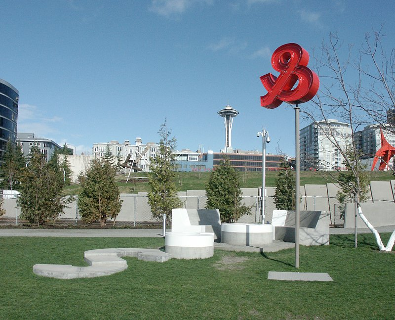 Images Of The Olympic Sculpture Park Seattle Washington