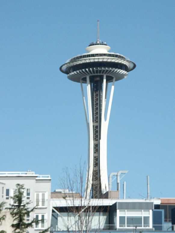 Images of the space needle by victor steinbrueck and john Built in seattle