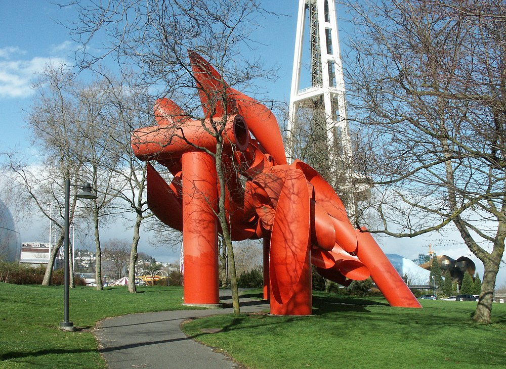 Images Of Some Of The Public Sculpture At Seattle Center