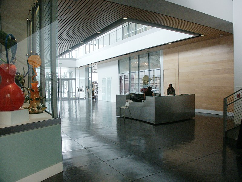Art Von Foyer : Images of tacoma art museum by antoine predock