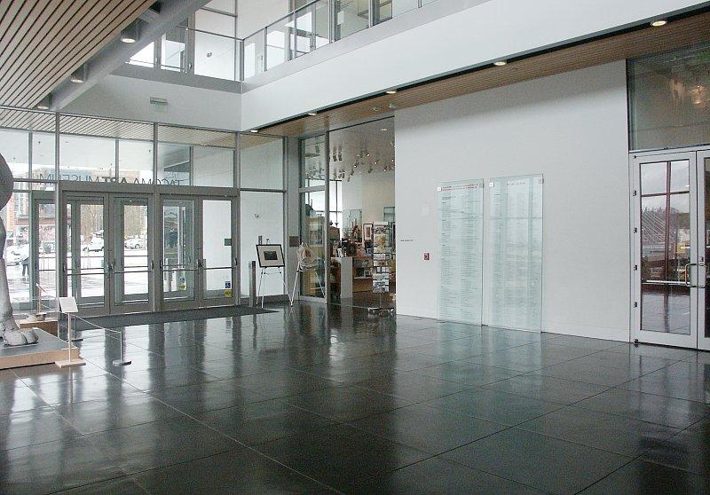 Museum Entry Foyer : Images of tacoma art museum by antoine predock