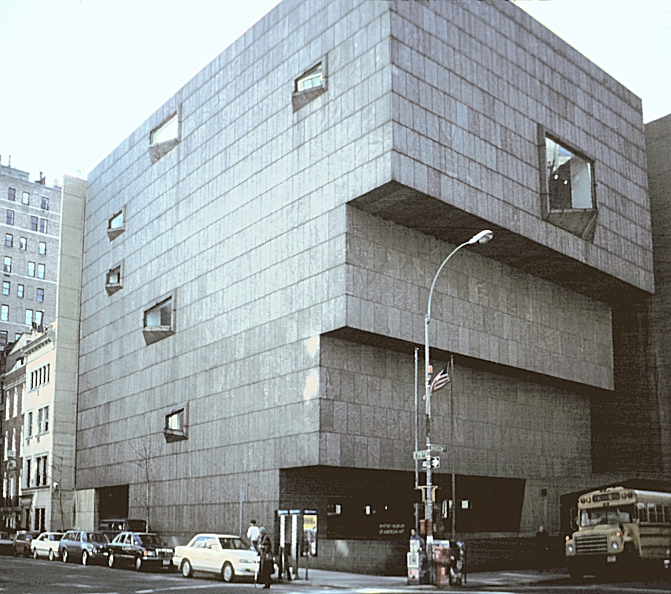 Images of the whitney museum of american art by marcel breuer 1966 new yor - Marcel breuer architecture ...