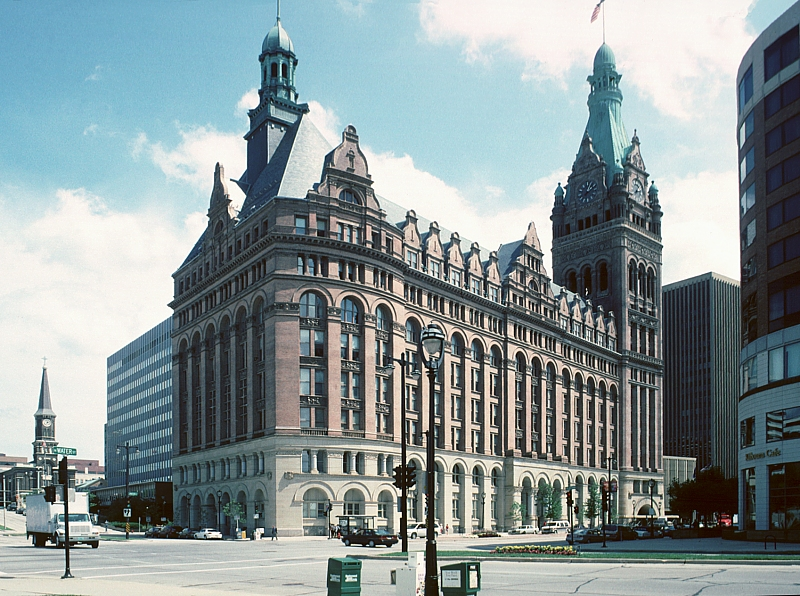 images of milwaukee city hall by h c koch and company. Black Bedroom Furniture Sets. Home Design Ideas