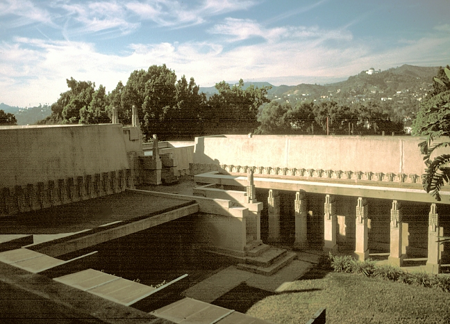 Images Of Aline Barnsdall House Hollyhock House By Frank
