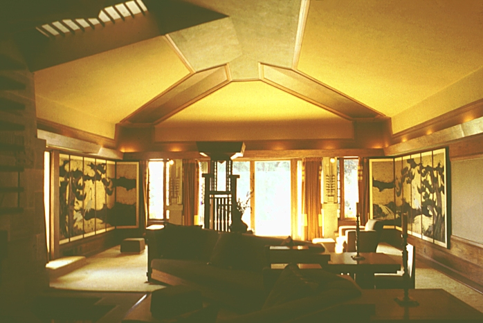 Living room aline barnsdall house hollyhock house for Living room 6250 hollywood blvd
